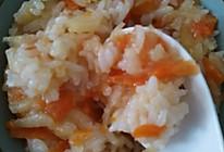 胡萝卜土豆丝饭的做法