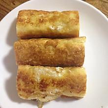 鸡蛋吐司鱼肠卷