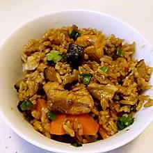 香菇鸡丁焖饭