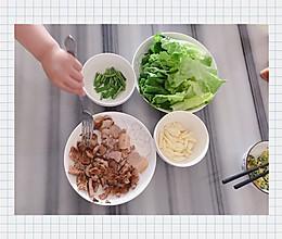 懒人一人餐家庭烤肉不需要腌制的做法