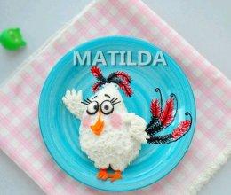 大白鸟玛蒂尔达#蒙牛嗨Milk#的做法