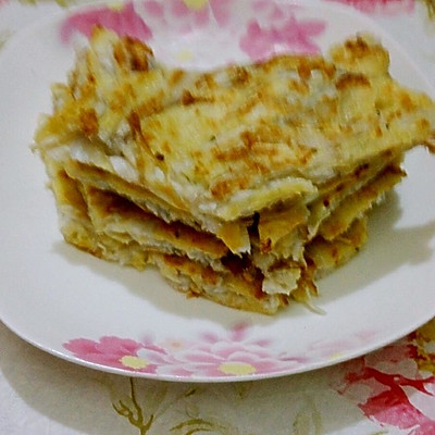 银鱼面托-天津地方家常菜