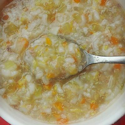 宝宝辅食——猪肝蔬菜粥