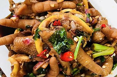泰国凉拌鸡爪