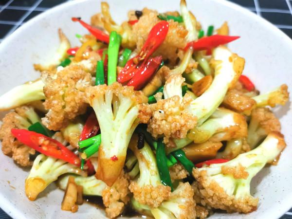 干锅花菜,好吃到舔盘!