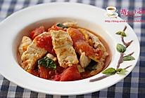 番茄鲟鱼片的做法