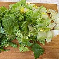 家常菜❗️蒜蓉炒奶白菜的做法图解1
