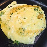 韭菜煎蛋的做法图解6