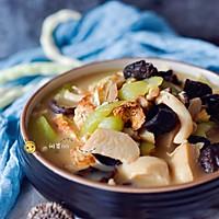 素食记—丝瓜菌菇炖的做法图解7