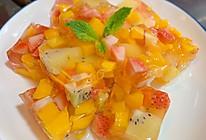 自制新鲜水果果冻,白凉粉的做法