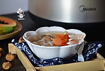 木瓜响螺花胶汤(炖)#胆.敢不同,美的原生态AH煲#的做法