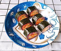 紫薯寿司的做法