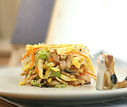 香菇胡萝卜粉丝小炒  宝宝辅食达人的做法