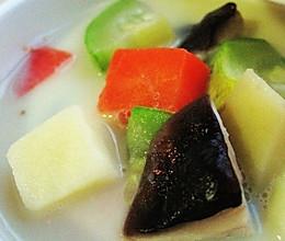 有关减肥那点事儿——豆浆蔬菜浓汤的做法