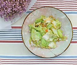 泰式鱼露炒卷心菜的做法