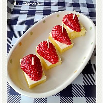 菠萝芝士小甜品