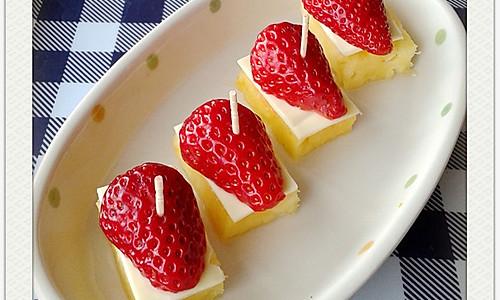 菠萝芝士小甜品的做法