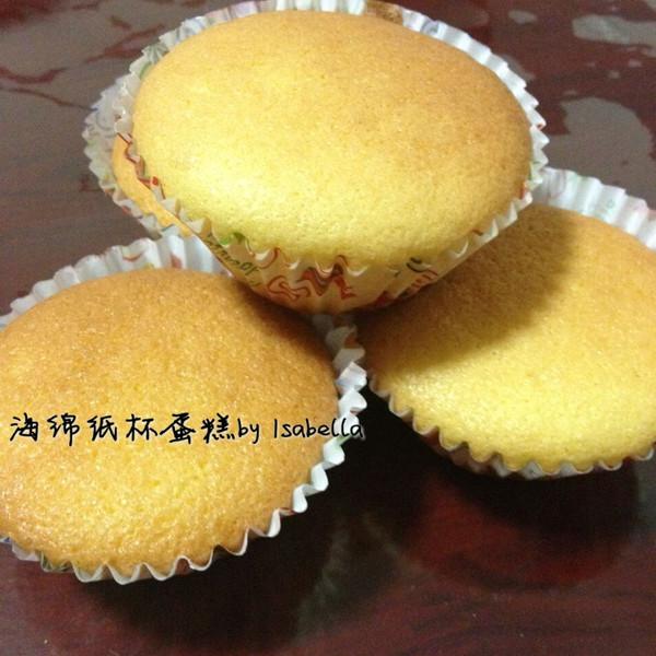 海绵杯子蛋糕的做法