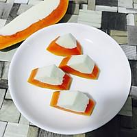 木瓜牛奶冻的做法图解7