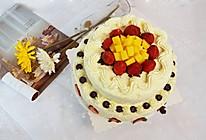 【双层水果奶油生日蛋糕】——COUSS E5出品的做法