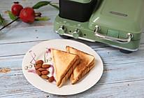 紫薯夹心三明治的做法