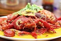 回味无穷的金汤蒜泥龙虾的做法