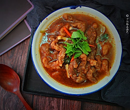 酸辣酥肉汤的做法
