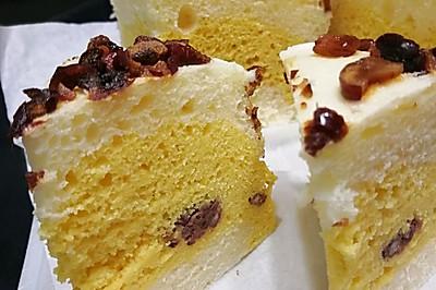大米加玉米加豆沙发糕