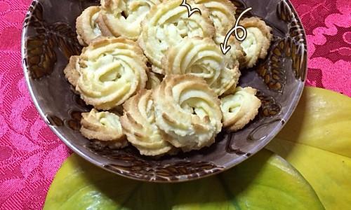 黄油曲奇饼干(成功率超高)的做法