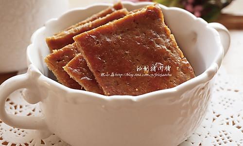 高大上零食:秘制猪肉脯的做法