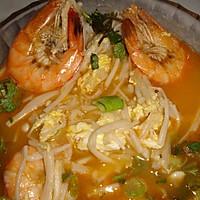 金针新虾汤