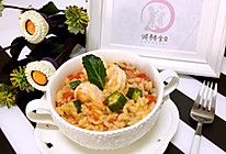 番茄海鲜烩饭的做法