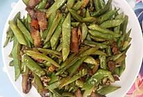 五花肉炒四季豆(下饭菜)的做法