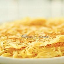 快手早餐-香煎土豆丝饼