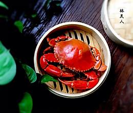清蒸青蟹的做法