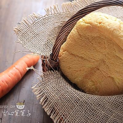 【胡萝卜高纤吐司】——面包机一键吐司