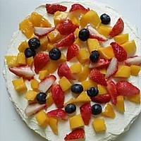 水果奶油裱花蛋糕(八寸超详细版)#豆果5周年#的做法图解22