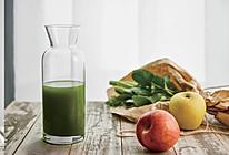 春风十里 西芹菠菜苹果汁的做法