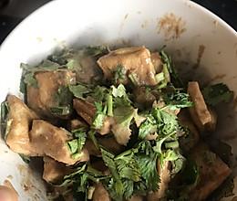 简易无油油炸臭豆腐(空气炸锅)低脂的做法