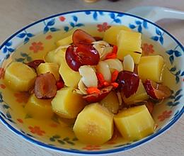 百合甘蔗汤的做法