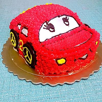 汽车蛋糕的做法 步骤8