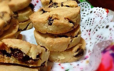 蔓樾梅饼干(低糖、低油、放心吃)的做法