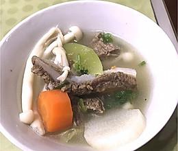 牛脆骨汤的做法