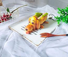 热狗面包换一个造型,萌萌哒馋哭孩子的做法