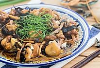 黄花菜木耳蒸鸡的做法