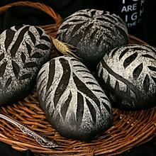墨鱼软欧面包(四种整形手法):