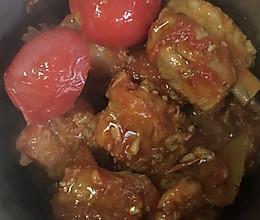西红柿炖排骨的做法