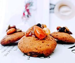 #豆果10周年生日快乐#焦糖坚果巧克力曲奇的做法