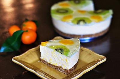 橘子慕斯蛋糕(免烤)