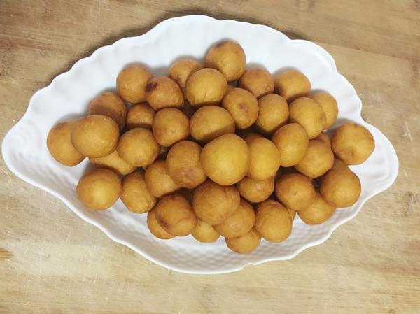 自制炸红薯丸子的做法